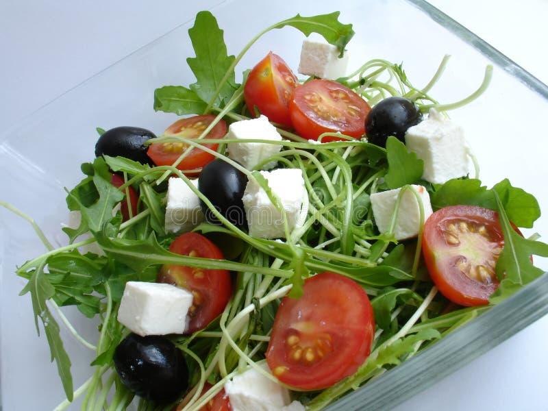 Download φρέσκια σαλάτα στοκ εικόνα. εικόνα από μικτός, πιάτο, παντοπωλείο - 391585