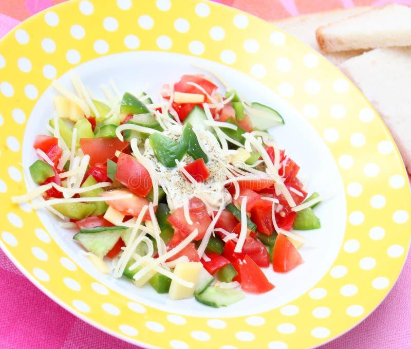 φρέσκια σαλάτα στοκ φωτογραφίες