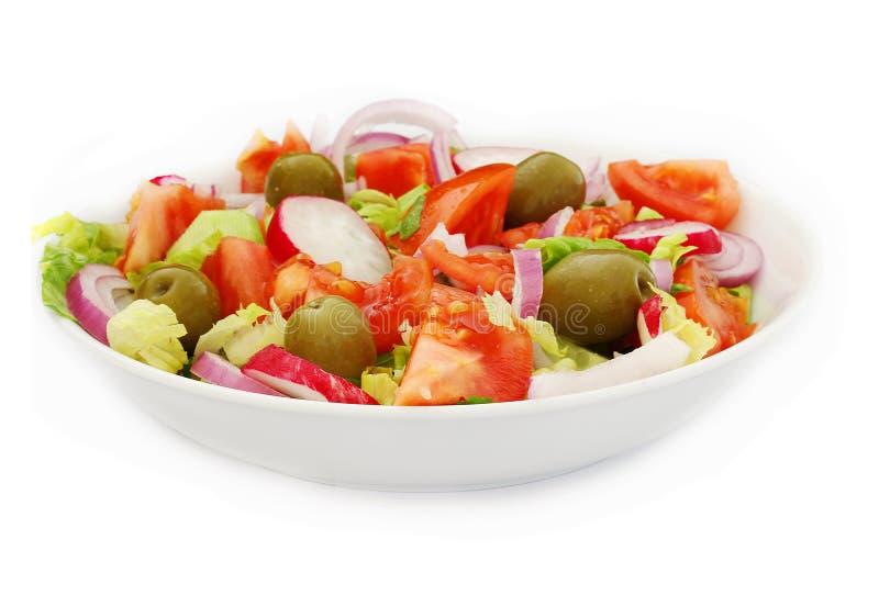 φρέσκια υγιής σαλάτα στοκ φωτογραφία