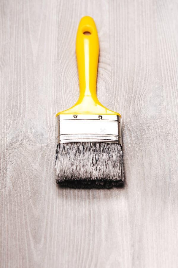 Φρέσκια χρωματισμένη ξύλινη επιφάνεια στοκ φωτογραφία με δικαίωμα ελεύθερης χρήσης