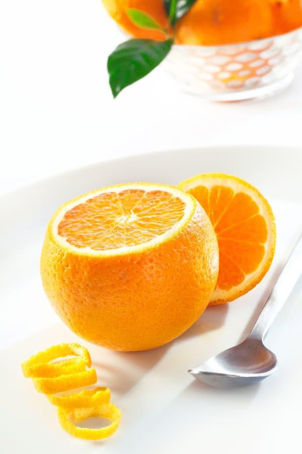 φρέσκια juicy πορτοκαλιά απόλαυση στοκ φωτογραφίες