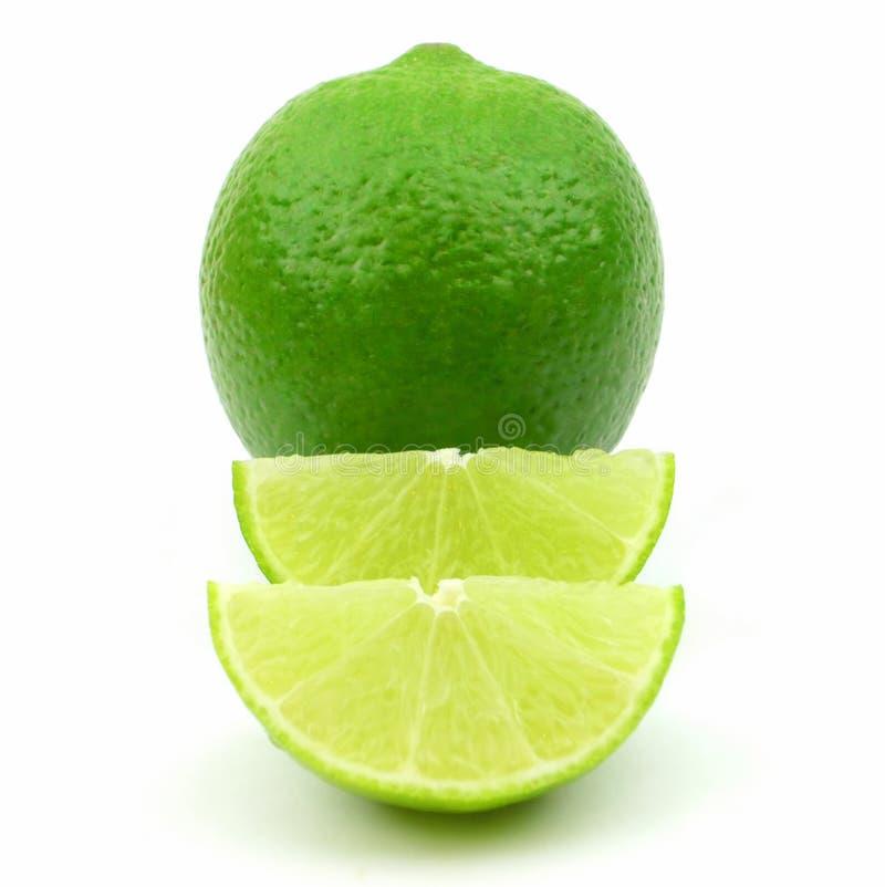 Φρέσκοι πράσινοι ασβέστες στοκ εικόνες