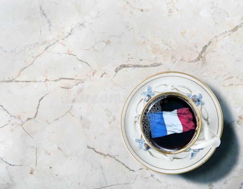 Φρέσκος γαλλικός καφές στοκ εικόνες με δικαίωμα ελεύθερης χρήσης