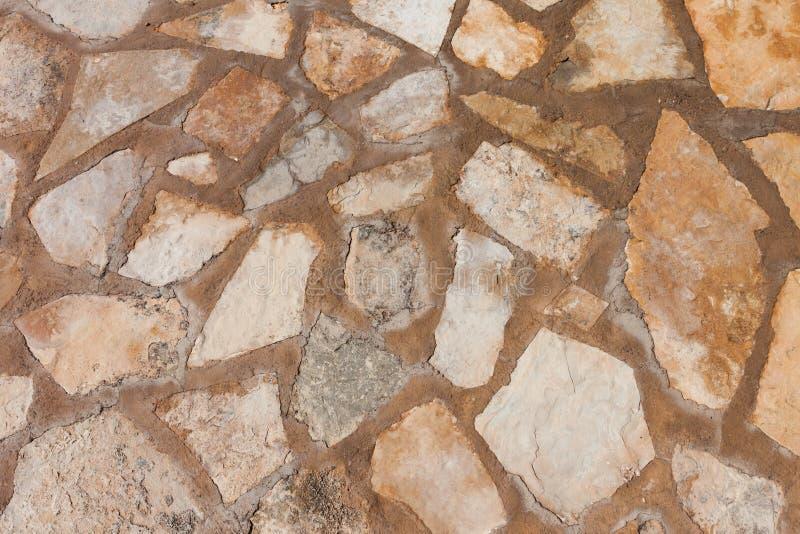 φρέσκος τοίχος σύστασης πετρών στοκ φωτογραφίες