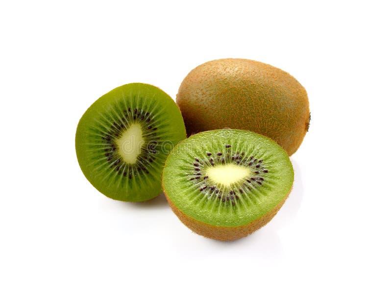 Φρέσκος των φρούτων kivi στο άσπρο υπόβαθρο στοκ φωτογραφία με δικαίωμα ελεύθερης χρήσης