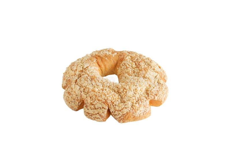 Φρέσκο αρτοποιείο Κουλούρια σχεδίων Άσπρος απομονώστε στοκ εικόνα με δικαίωμα ελεύθερης χρήσης