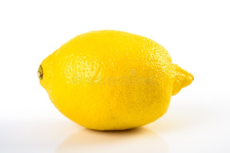 φρέσκο λεμόνι - κίτρινο στοκ εικόνα με δικαίωμα ελεύθερης χρήσης