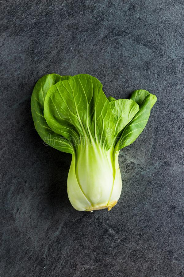 Φρέσκο λάχανο choi Pak στοκ εικόνες