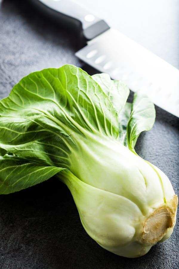 Φρέσκο λάχανο choi Pak στοκ φωτογραφίες