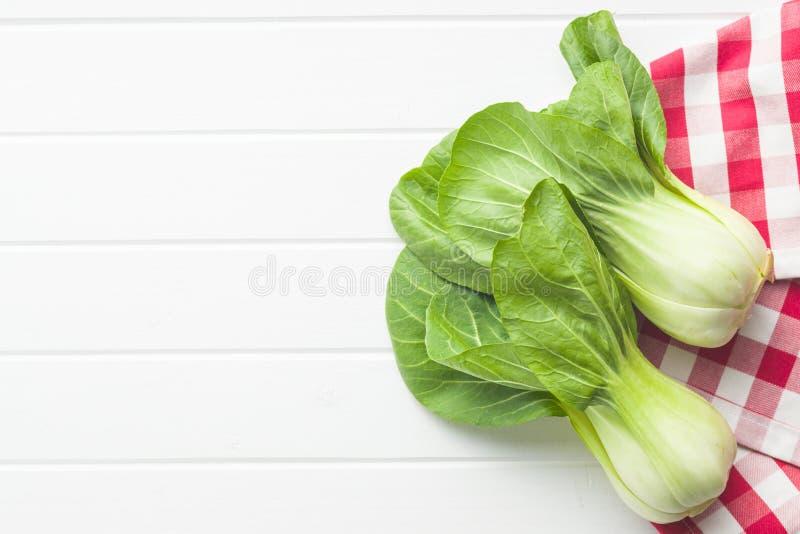 Φρέσκο λάχανο choi Pak στοκ φωτογραφία με δικαίωμα ελεύθερης χρήσης