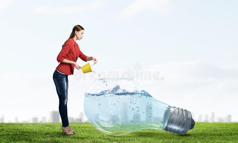 Φρέσκο νερό κρυστάλλου στοκ φωτογραφίες με δικαίωμα ελεύθερης χρήσης