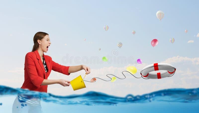 Φρέσκο νερό κρυστάλλου στοκ φωτογραφία με δικαίωμα ελεύθερης χρήσης