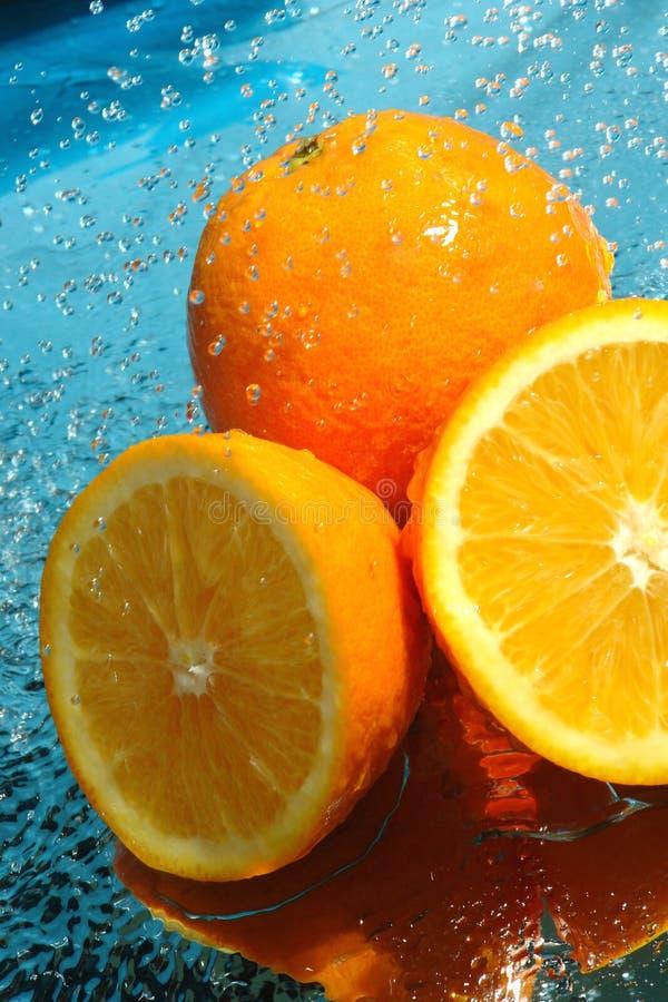 φρέσκο πορτοκάλι ομορφιά& στοκ φωτογραφία με δικαίωμα ελεύθερης χρήσης