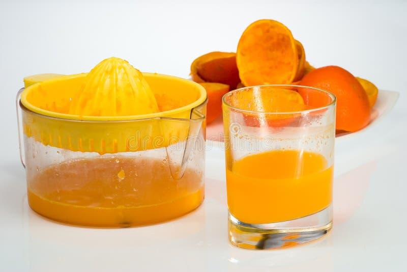 φρέσκο πορτοκάλι χυμού π&omicro στοκ εικόνες