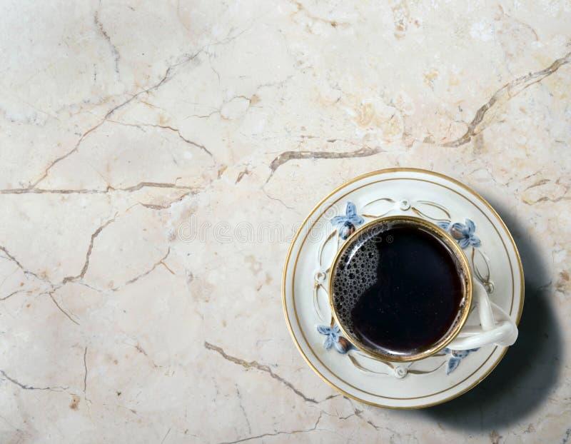 φρέσκο πρωί καφέ στοκ φωτογραφία