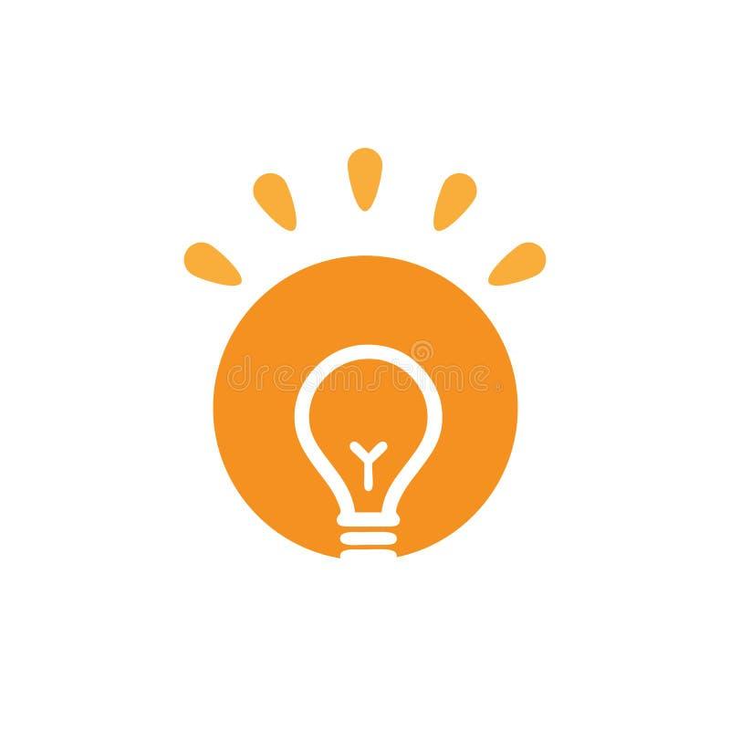Φρέσκο πρότυπο λογότυπων ιδέας για τον καλό φιλόσοφο στοκ φωτογραφία με δικαίωμα ελεύθερης χρήσης