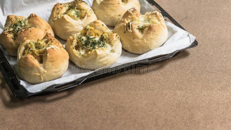Φρέσκο ψωμί από το φούρνο στοκ εικόνες