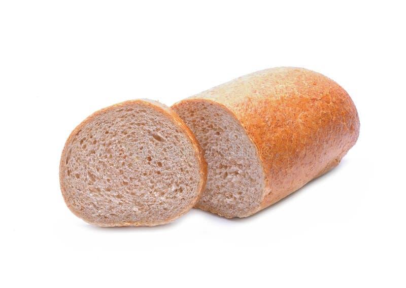 Φρέσκο ψωμί που απομονώνεται στο άσπρο υπόβαθρο στοκ εικόνα με δικαίωμα ελεύθερης χρήσης