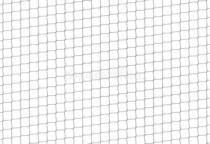 φραγή αλυσίδων Πλέγμα χάλυβα διανυσματική απεικόνιση