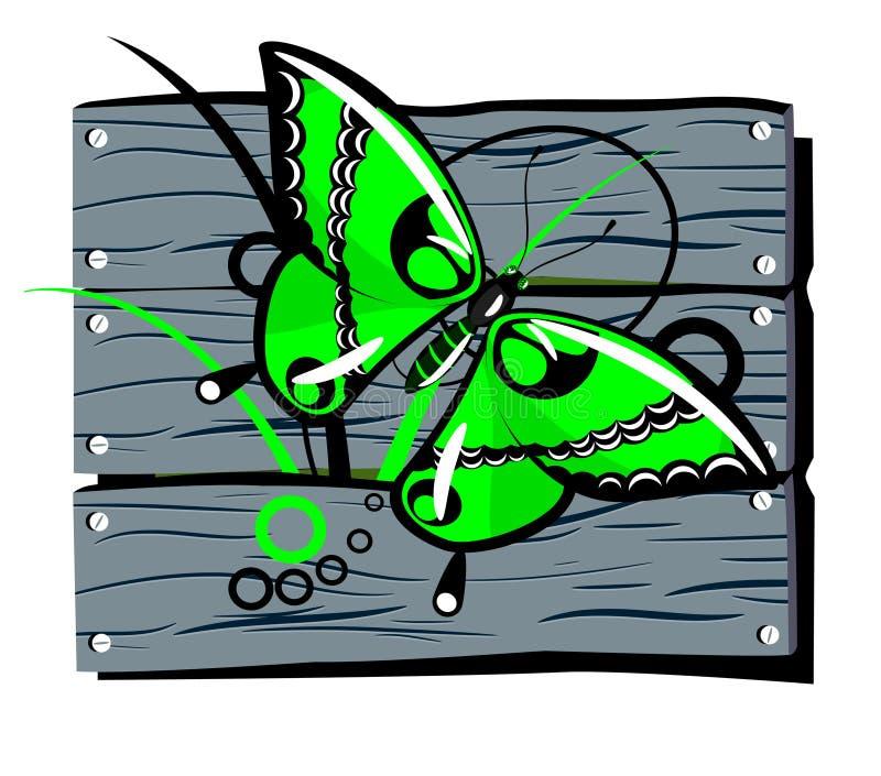 φραγή πεταλούδων απεικόνιση αποθεμάτων