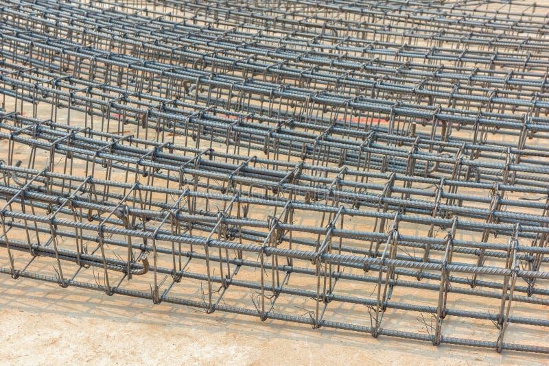 Φραγμοί ράβδων χάλυβα στοκ εικόνα με δικαίωμα ελεύθερης χρήσης
