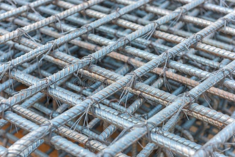 Φραγμοί ράβδων χάλυβα στοκ φωτογραφίες