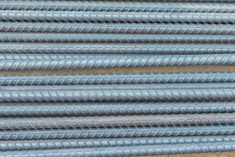 Φραγμοί ράβδων χάλυβα στοκ εικόνες με δικαίωμα ελεύθερης χρήσης