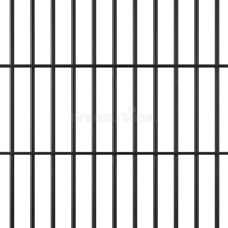Φραγμοί φυλακών διανυσματική απεικόνιση