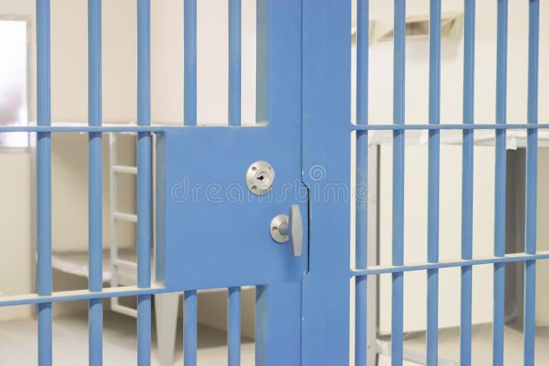 Φραγμοί φυλακών στοκ εικόνα
