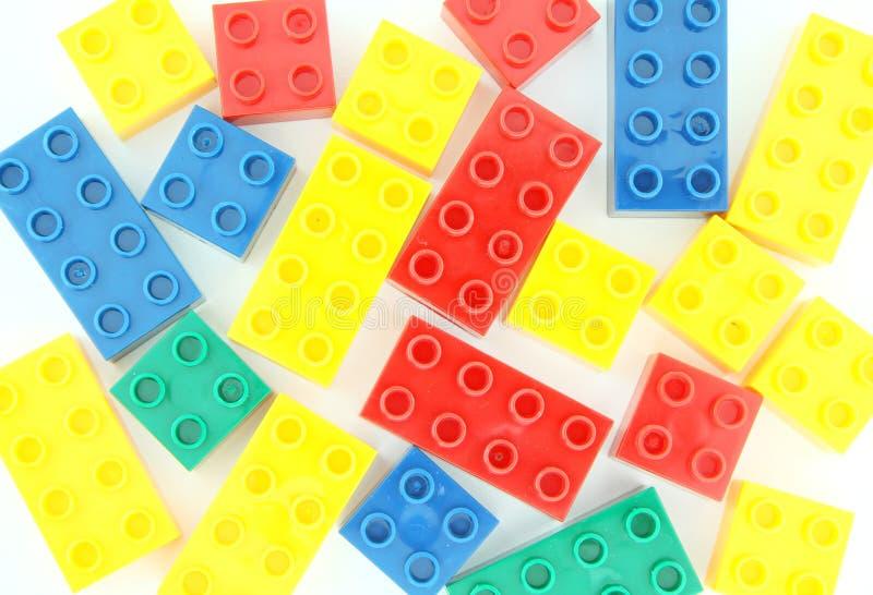 Φραγμοί Lego στοκ εικόνα με δικαίωμα ελεύθερης χρήσης