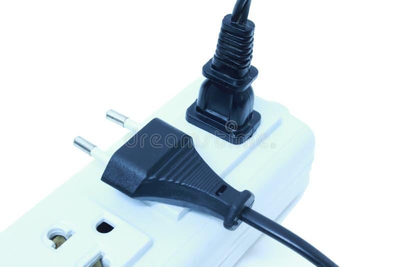 Φραγμός ηλεκτρικής δύναμης στοκ εικόνα