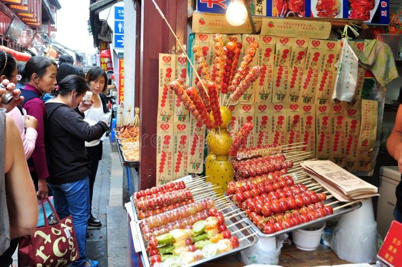 Φραγμός πρόχειρων φαγητών της Κίνας στοκ εικόνες