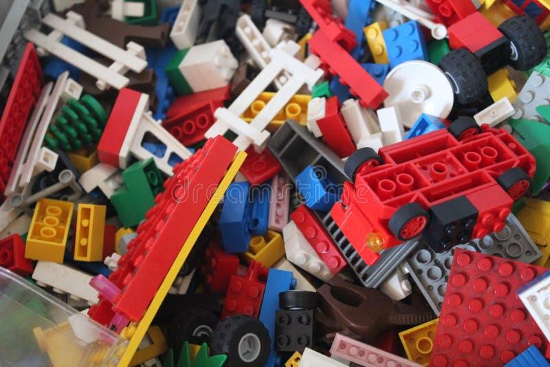 Φραγμός Lego στοκ εικόνες