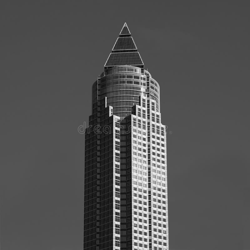 ΦΡΑΝΚΦΟΥΡΤΗ, ΓΕΡΜΑΝΙΑ - Messeturm - δίκαιος πύργος στοκ εικόνα με δικαίωμα ελεύθερης χρήσης