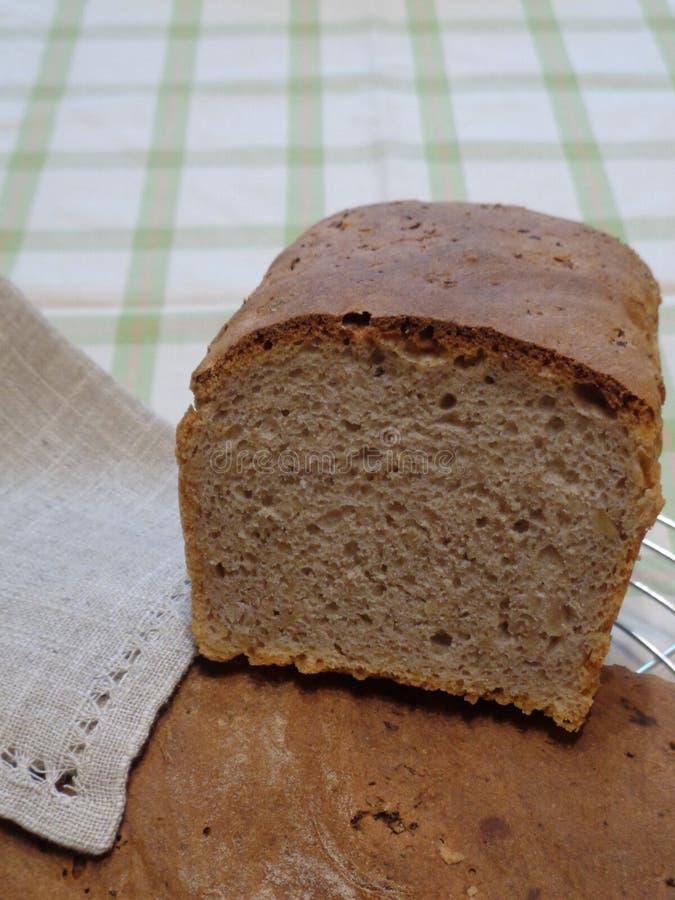 Φραντζόλα του ψωμιού σίκαλης, κουζίνα εύγευστη στοκ φωτογραφία με δικαίωμα ελεύθερης χρήσης