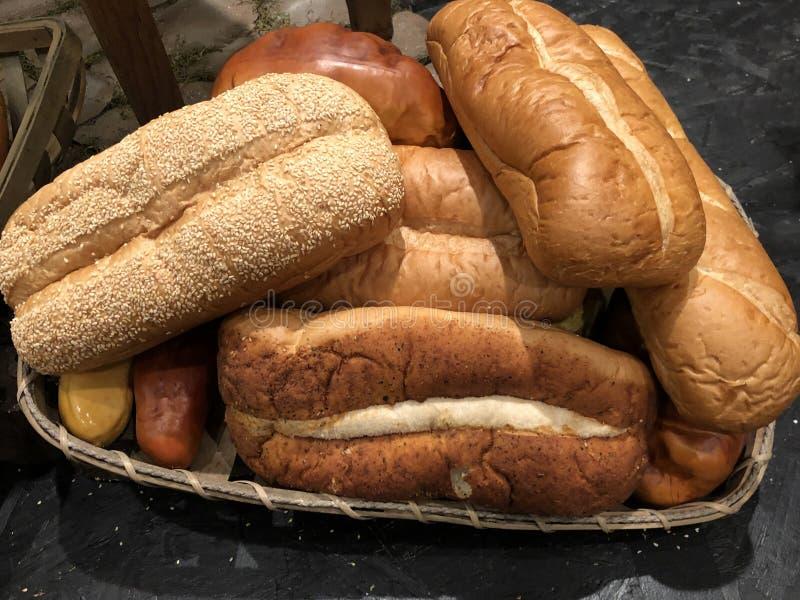 Φραντζόλες του ψωμιού στοκ εικόνες με δικαίωμα ελεύθερης χρήσης