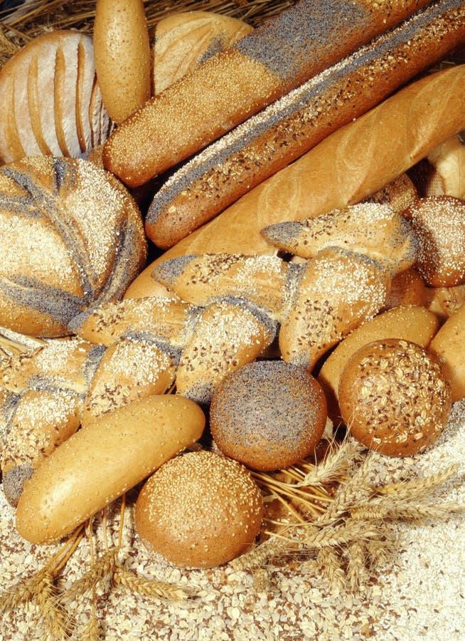 φραντζόλες ψωμιού στοκ εικόνες