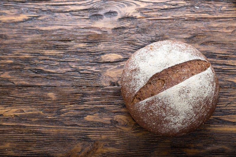 Φραντζόλα του ψωμιού σίκαλης στοκ εικόνα