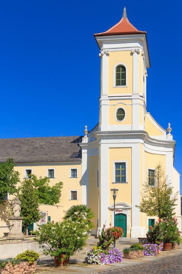Φραντσησθανή εκκλησία μοναστηριών Eisenstadt, Αυστρία στοκ φωτογραφίες με δικαίωμα ελεύθερης χρήσης