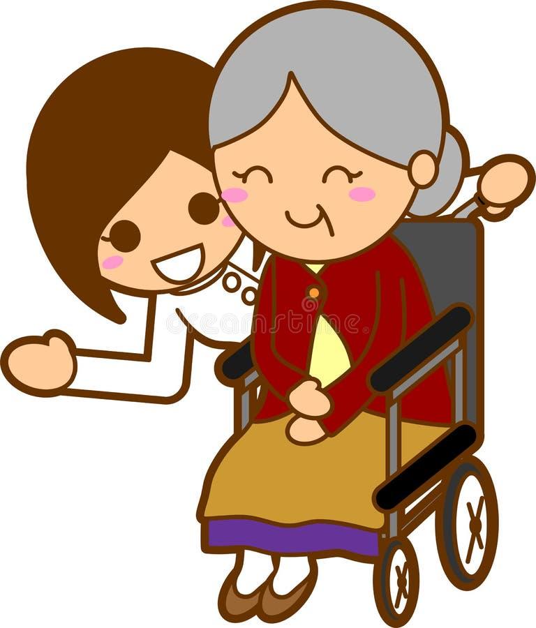 φροντίδα ιατρική ελεύθερη απεικόνιση δικαιώματος