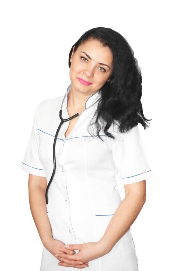 φροντίζοντας νεολαίες γιατρών στοκ εικόνες με δικαίωμα ελεύθερης χρήσης