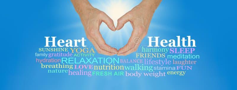 Φροντίστε και αγαπήστε την καρδιά σας στοκ εικόνες