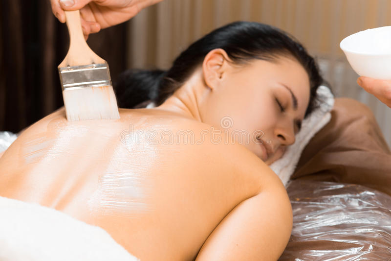 Φροντίδα δέρματος στοκ εικόνα