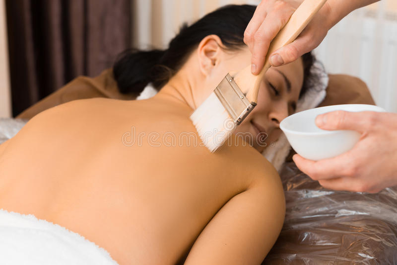 Φροντίδα δέρματος στοκ φωτογραφίες