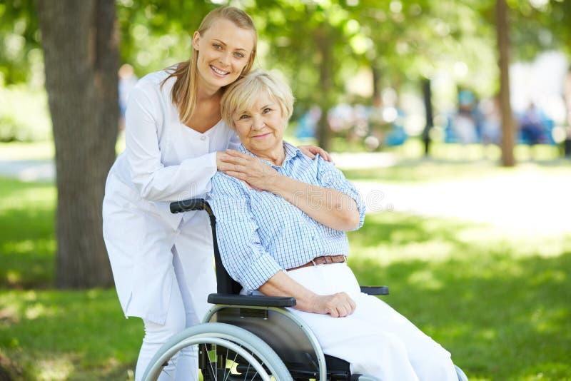 Φροντίδα του ασθενή στοκ φωτογραφίες με δικαίωμα ελεύθερης χρήσης