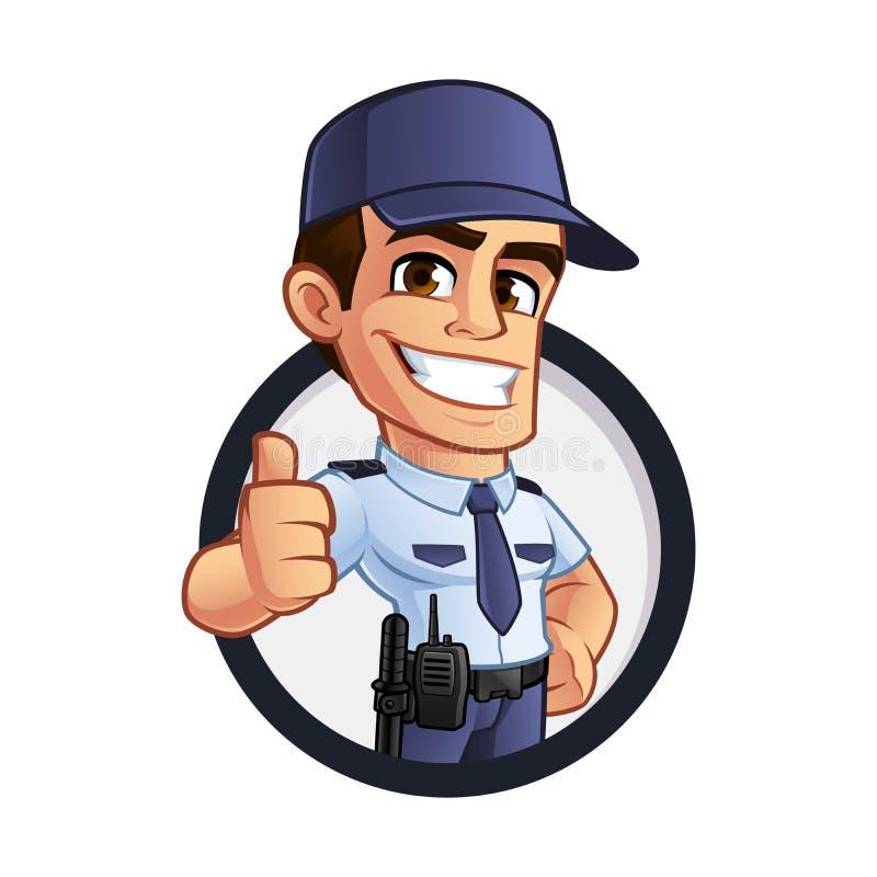 Φρουρά ασφάλειας απεικόνιση αποθεμάτων