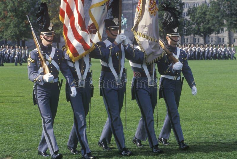 Φρουρά τιμής παρελάσεων Homecoming στοκ φωτογραφία με δικαίωμα ελεύθερης χρήσης