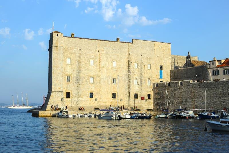 Φρούριο Αγίου Ivan σε Dubrovnik στοκ φωτογραφίες