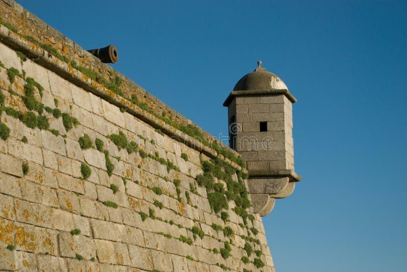 φρούριο ακρών πυροβόλων στοκ φωτογραφία