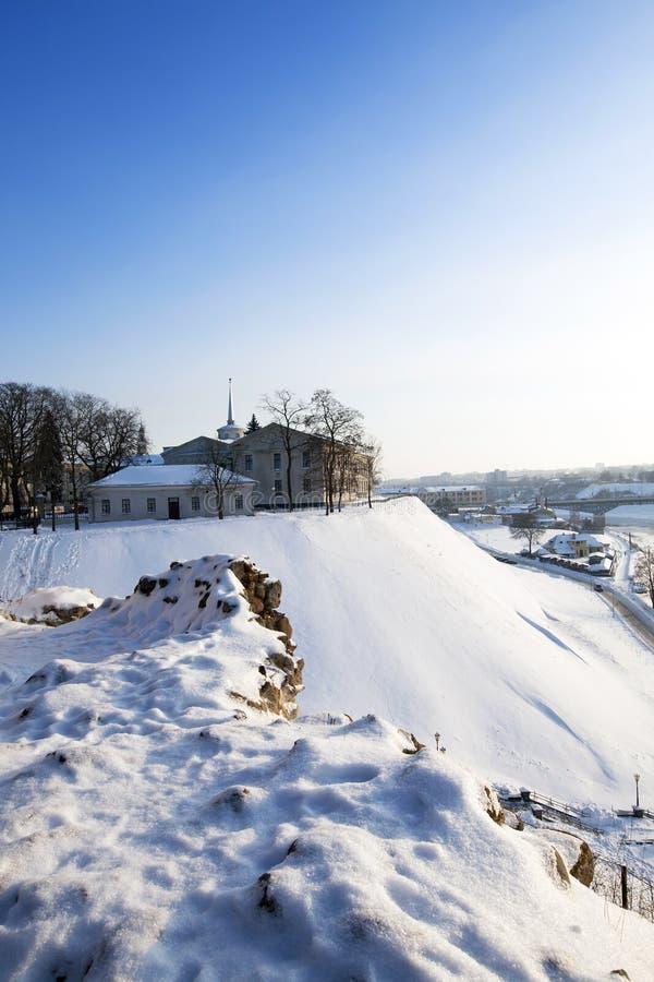 Φρούριο Γκρόντνοναι στοκ φωτογραφία με δικαίωμα ελεύθερης χρήσης